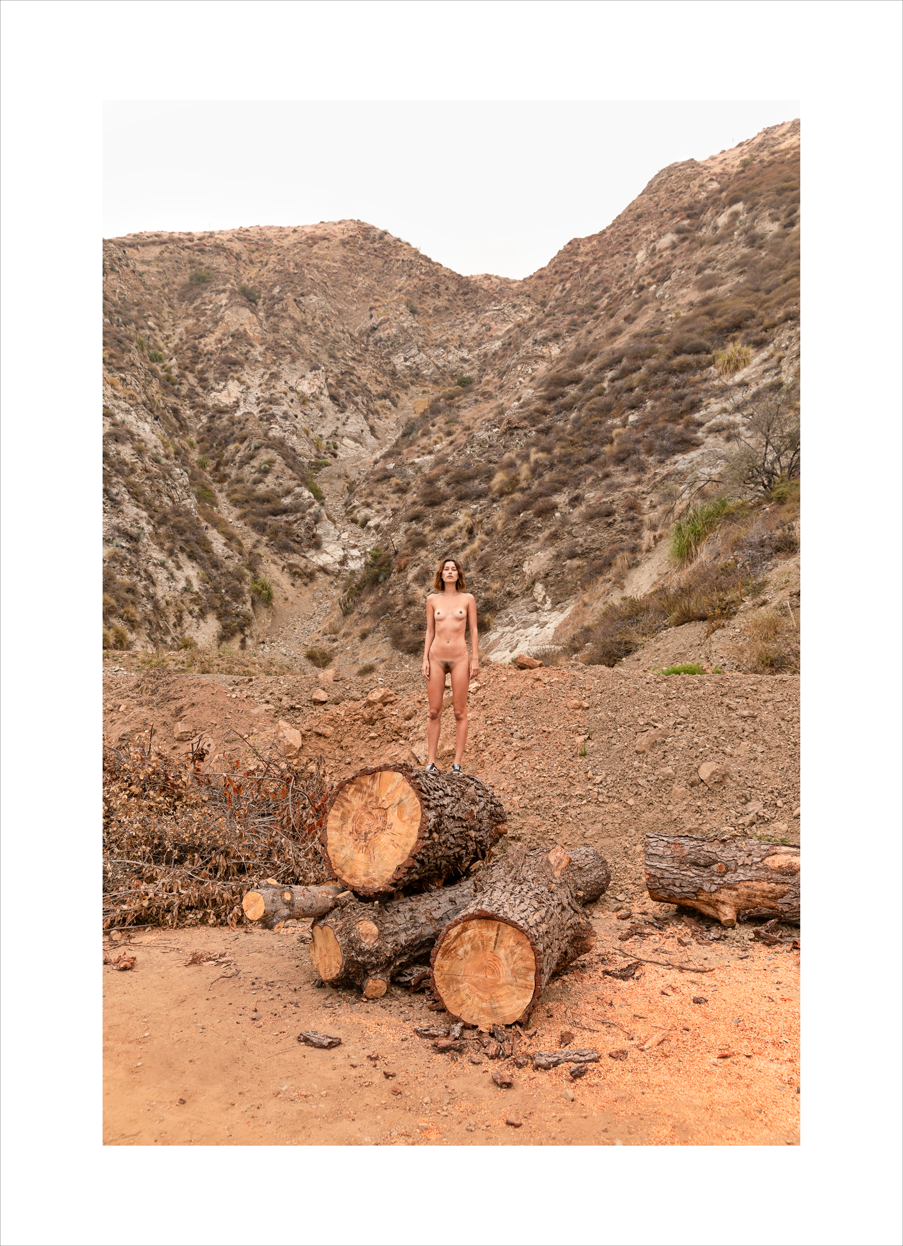 CYBELE MALINOWSKI - 'Big Sur Little Her - all that is behind'
